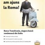 Banca Transilvania a deschis o surcursală în Roma