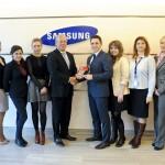 Samsung România a primit certificarea Top Employers 2014