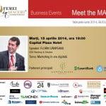 Florin Câmpeanu, CEO Rentrop & Straton, este speakerul evenimentului Meet the MAN!