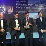 """Două premii """"Cea Mai Bună Clădire de Birouri a Anului"""", câștigate de Floreasca Park"""