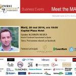 Cum îți promovezi afacerea pe Facebook? Află soluții la Meet the MAN!