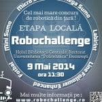 Se dă startul etapei locale RoboChallenge 2014