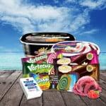 Alpin 57 Lux oferă peste 100 de sortimente de înghețată