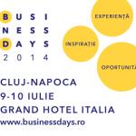 Cea de-a 15-a ediție a Business Days va avea loc pe 9-10 iulie, în Cluj