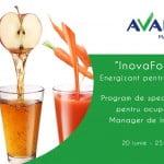 Jurnalul de Afaceri și Avalon Management vă oferă InnovaForte – energizant pentru afaceri