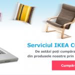 Ikea a lansat serviciul de comenzi online
