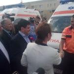 37 de ambulanţe, predate de ministrul Sănătăţii