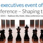 """CEO Conference """"Shaping the future"""" are loc pe 19 februarie, în Bucureşti"""