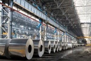 Productia industriala a Romaniei