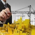 Lucrările de construcţii, în creştere