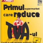 Primul retailer care reduce TVA-ul la alimente