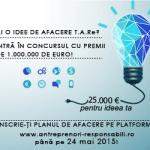 Finanţări de 1 milion de euro pentru tinerii cu idei inovative de afaceri