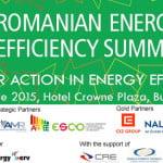 Vineri va avea loc Romanian Energy Efficiency Summit