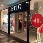 Magazinul ETIC din București Mall s-a redeschis