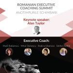 """Romanian Executive Coaching Summit 2015"" va avea loc pe 30 septembrie"