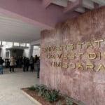 Luni începe admiterea de toamnă la Universitatea de Vest din Timișoara