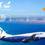 Blue Air introduce trei noi rute, din Iaşi