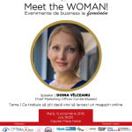 Doina Vîlceanu (ContentSpeed), speakerul evenimentului Meet the WOMAN! din 6 octombrie