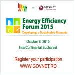 Strategia energetică a României, dezbătută la Forumul de Eficienţă Energetică 2015