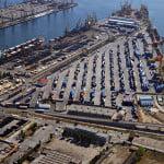 Porturile din Constanţa, închise din cauza vântului