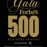 Gala Forbes 500 Business Awards 2015 are loc pe 22 octombrie