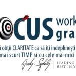 """Workshop-ul gratuit """"Focus"""" va avea loc pe 19 octombrie"""