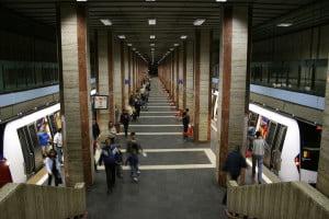 Program metrou meci Romania - Spania