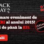Black Friday la evoMAG:  Peste 40.000 de produse, la preţuri reduse cu până la 83%