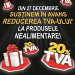 Carrefour reduce în avans TVA-ul la produsele nealimentare