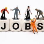 Rata şomajului, în scădere