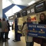 Ryanair a lansat o nouă rută din București către Milano