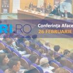 Conferinţa Afaceri.ro: Cum se poate construi o afacere profitabilă în 2016?