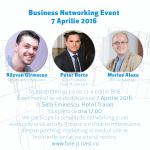 Pe 7 aprilie are loc Business Networking Event Iaşi