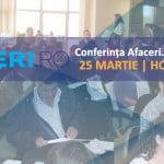 Conferinţa Afaceri.ro Vaslui are loc pe 25 martie