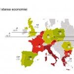 Consumatorii europeni se tem de o încetinire a creşterii economice