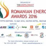 Romanian Energy Awards 2016 are loc pe 12 mai