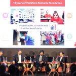Fundația Vodafone a finanțat proiecte în valoare de 23 de milioane de euro