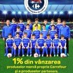 Carrefour susţine 55 echipe de fotbal de juniori din țară