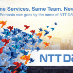 EBS Romania a preluat oficial denumirea de NTT DATA