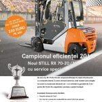 Still RX 70-20/35, campionul eficienţei în rândul stivuitoarelor cu combustie internă