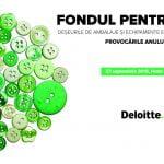 """Conferința """"Fondul pentru Mediu. Provocările Anului 2017″ are loc pe 27 septembrie"""