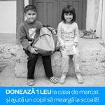 Carrefour și UNICEF sprijină copiii să meargă la școală