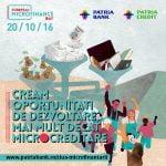 Patria Credit și Patria Bank sărbătoresc Ziua Europeană a Microfinanțării