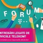 Telekom România a lansat un forum dedicat clienţilor companiei