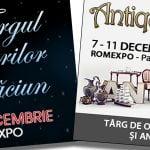 Târgul Cadourilor de Crăciun și Antique Market, la Romexpo