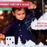 Piese de teatru pentru copii cu acces gratuit, în perioada Crăciunului, la Veranda Mall
