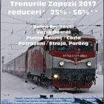 S-a lansat programul Trenurile Zăpezii 2017. Ce reduceri oferă CFR?