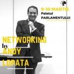 Evenimentul Networking by Andy Lopata va avea loc pe 9-10 martie, în Bucureşti