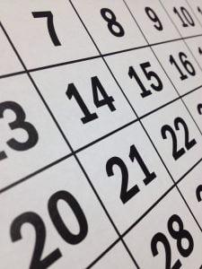 Calendar zile libere 2021