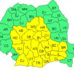 Cod galben de ger în jumătate din România, până pe 21 ianuarie